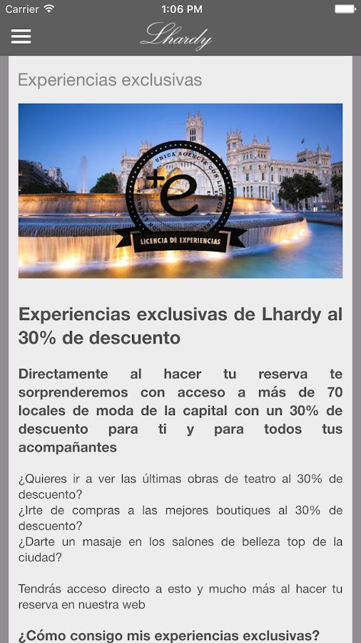 Restaurante Lhardy- screenshot