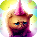 Birthday Kitty Live wallpaper icon
