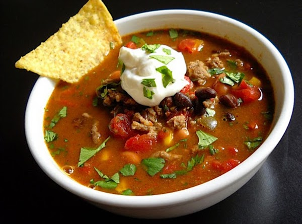 Wickedly Wild Taco Soup Recipe