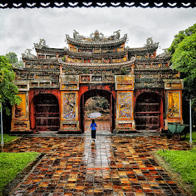 The ancient capital of HUE,  VietNam by Tran Ngoc Phuc Ngoctiendesign - City,  Street & Park  Historic Districts (  )