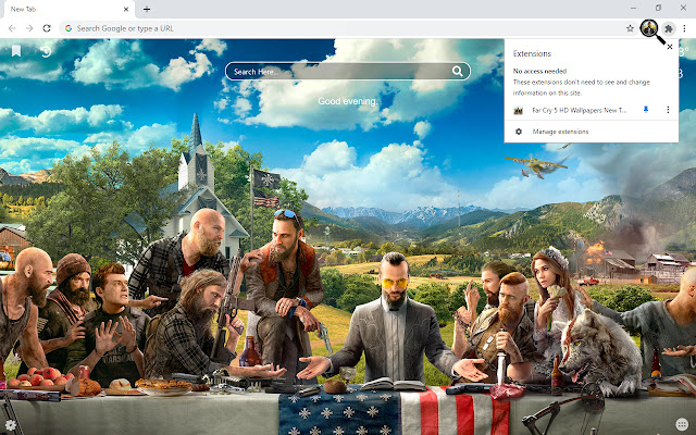 Far Cry 5 HD Wallpapers New Tab