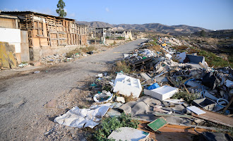 Limpieza en Los Almendros