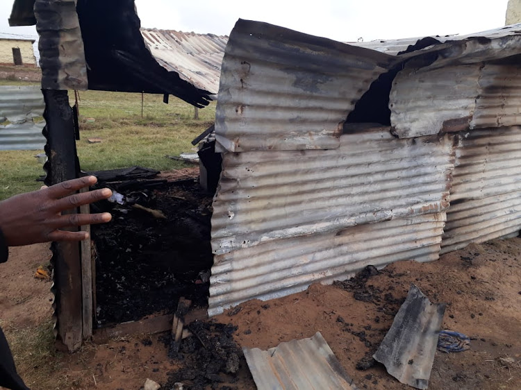A shack fire claimed the life of a one-year-old in Nkampini village on Wednesday morning.