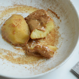 Chai Poached Apples
