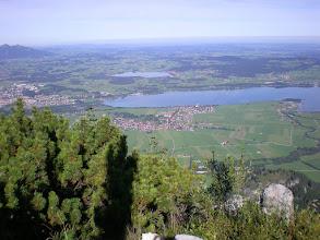 Photo: vues depuis le Tegelberg