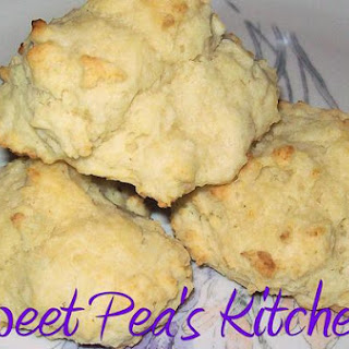Easy Buttermilk Drop Biscuits.