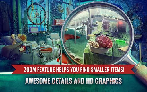 Haunted Hospital Asylum Escape Hidden Objects Game 2.8 Mod screenshots 2