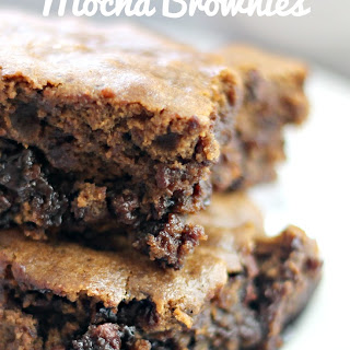 Double Chocolate Mocha Brownies Recipes