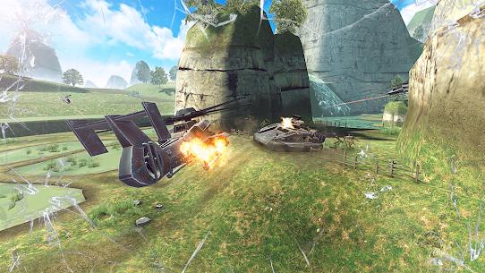 Massive Warfare – – لعبة دبابات مجانية 2