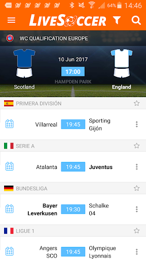 LiveSoccer live scores: FIFA World Cup 2018  4