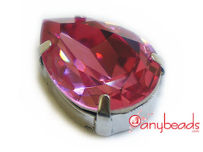 Photo: Swarovski Crystal Elements 4320 Pear Fancy Stones with setting 18x13mm - Rose http://www.anybeads.com/rose-swarovski-crystal-4320-pear-stones-18x13mm-1pcs-p-2705.html