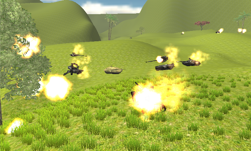Commandos Tank Battle