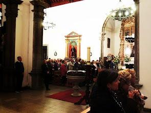 Photo: DIÓCESIS DE CANARIAS Solemnidad de Nuestra Señora de la Soledad de la Portería. Fotos: José Ubay Suárez Navarro Viernes, 27 de marzo de 2015.