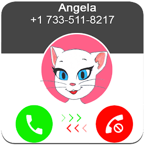 Call From Talking Angela Online PC (Windows / MAC)