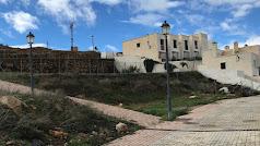 Imagen del espacio donde se construirá el nuevo almacén municipal de Alcolea.