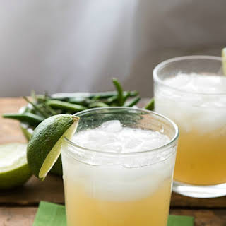 Spicy Thai Lemongrass Ginger Margarita.