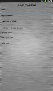 Juros Composto screenshot 4