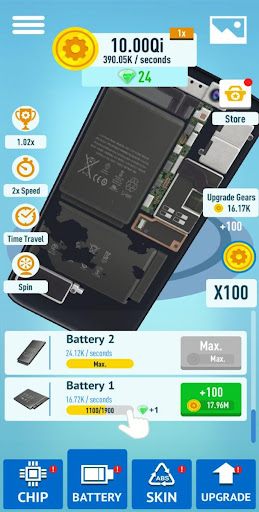 Idle Gadgets APK MOD – ressources Illimitées (Astuce) screenshots hack proof 2
