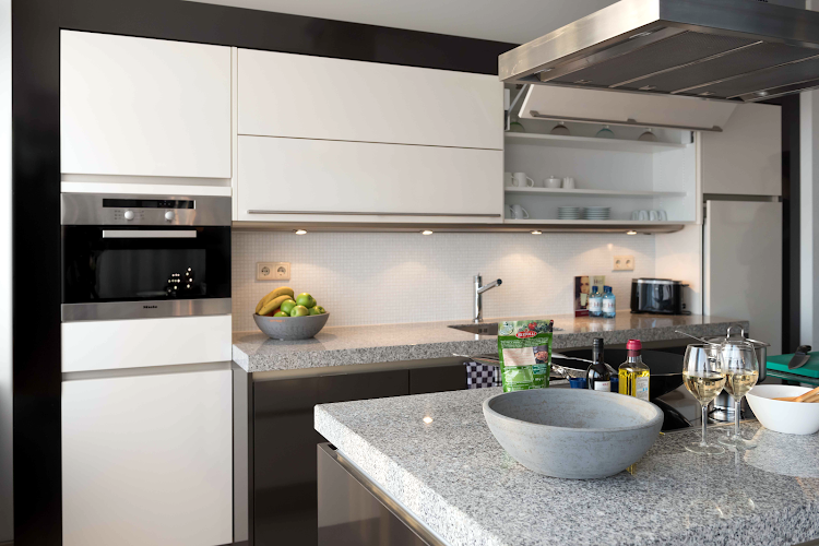 Kitchen at Amstelveen apartment