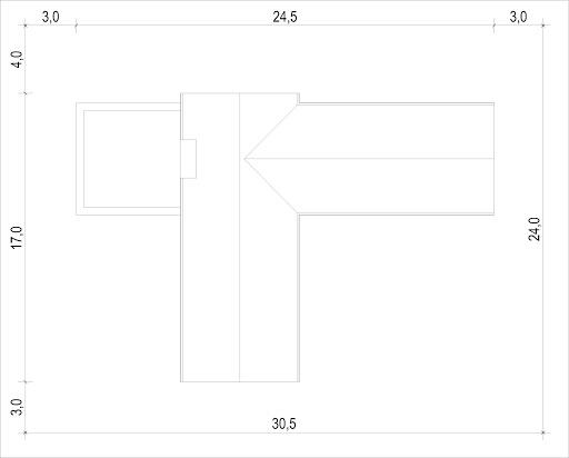 House X10 - drewno HBE - Sytuacja