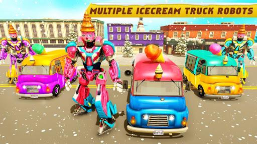 Ice Cream Robot Truck Game - Robot Transformation filehippodl screenshot 14