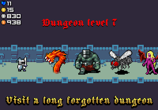 Endless Knight - Epic tiny idle clicker RPG  captures d'écran 1