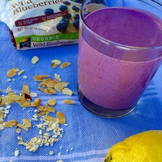 Wild Blueberry Pie Smoothie