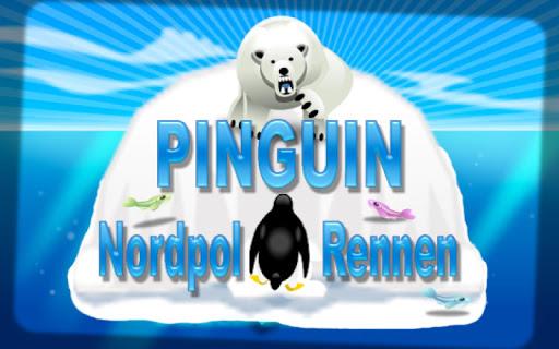 Pinguin Nordpol Rennen Gratis