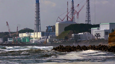 Photo: The Fukushima Daiichi nuclear plant in a scene from PANDORA'S PROMISE. Photo credit: Robert Stone.