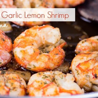 Garlic Lemon Shrimp (Gluten Free)