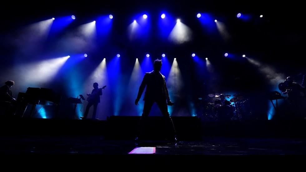 David Bisbal sobre el escenario del Marble Music Fest