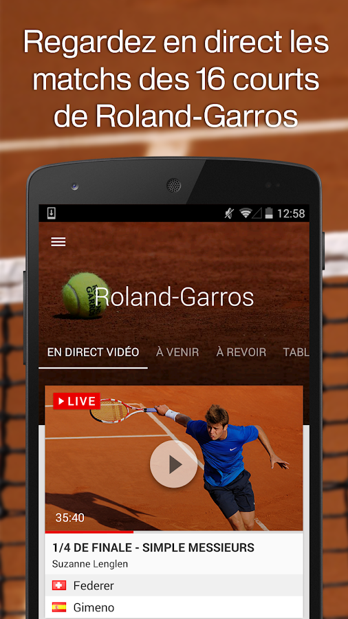 francetv sport - screenshot