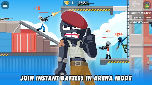 Stickman Combats: Multiplayer Stick Battle Shooter apktram screenshots 11