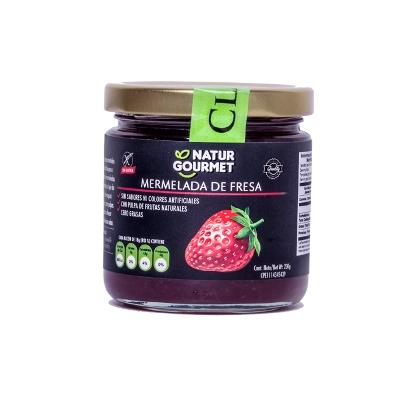 mermelatda sin gluten natgurmet sabor a fresa 230g Natgurmet