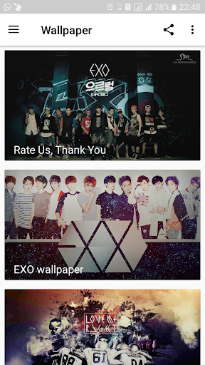 Best art EXO wallpaper HD 1.0 screenshots 4