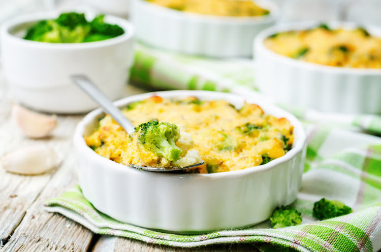Chicken and broccoli bake is thought to be a more modern take on the classic dish, Chicken a la King.