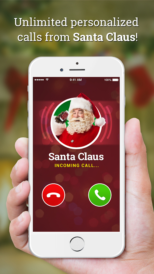Message from Santa! video, phone call, voicemail - Apps on