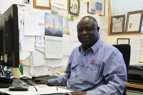 Robert Mensah was awarded the Public Service Medal in the Queen's Birthday Honours, a fitting way to end a 26-year career as one of the world's leading cotton researchers.