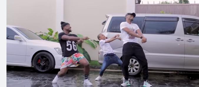 King on Bongo music Alikiba with son Kiba Junior