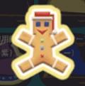 クリスマスのジンジャーブレッドマン