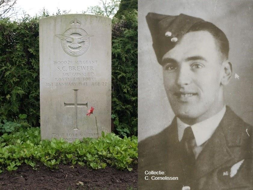 Sergeant S.C. (Stanley Charles) Brewer Air Gunner Royal Air Force