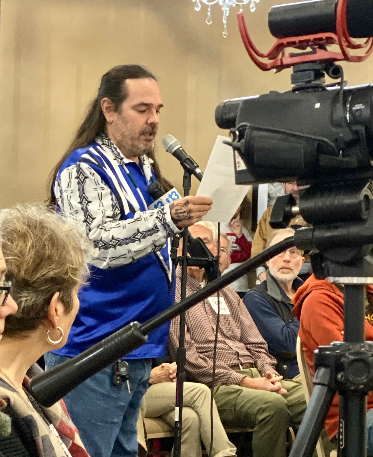 West End News - CMP Corridor public hearing - John Gonzalez testifies
