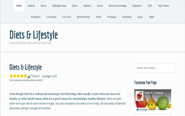 Diets & Lifestyle