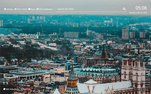 London Wallpaper HD New Tab Theme©