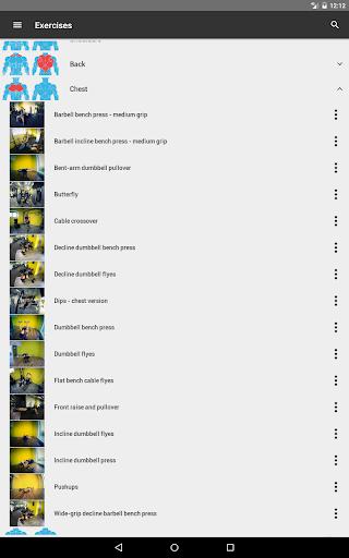 GymApp Pro Workout Log screenshot 11