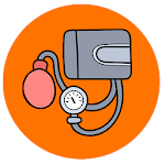Blood Pressure : BP Control Tracker History Diary icon