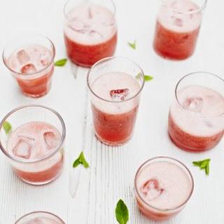 Strawberry Slushie.