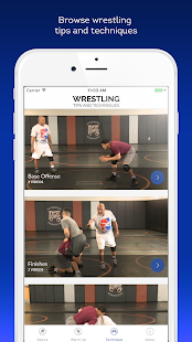 Wrestling Tips and Techniques- screenshot thumbnail