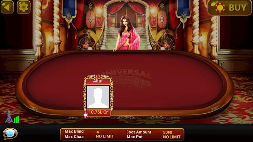Universal Teen Patti - Indian Poker Game  captures d'u00e9cran 16