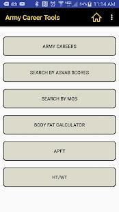 Army Career Tools - náhled